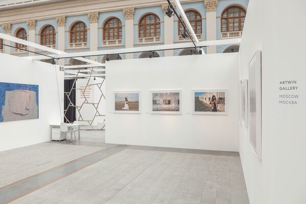 Artwin Gallery at Cosmoscow 2015, installation view