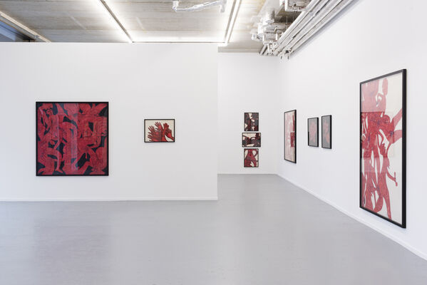 Jean Schwind, 'Provocations Part I: Erotic Works, installation view
