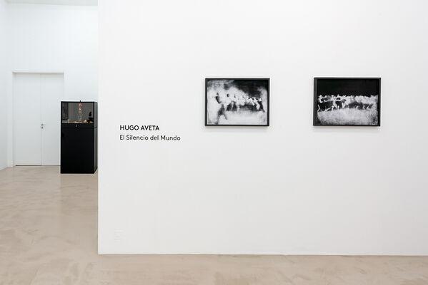"""Hugo Aveta """"El Silencio del Mundo"""", installation view"""