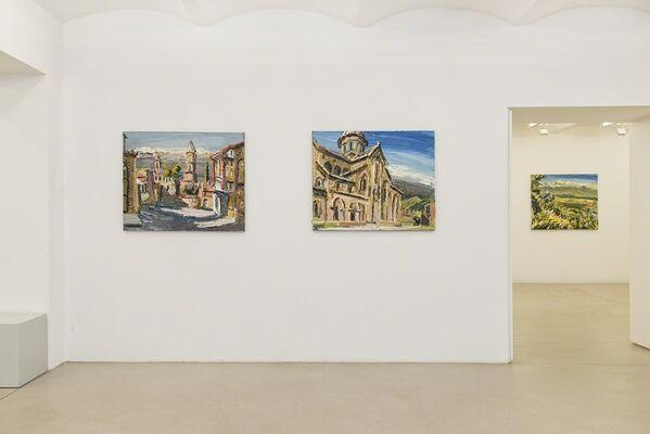 Natela Iankoshvili + Christopher Lehmpfuhl - Reise Nach Georgien, installation view