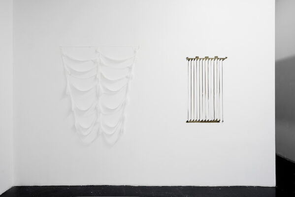 Mancanza/Here and Where, installation view