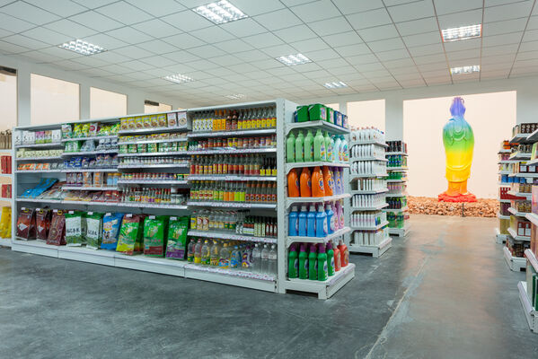 Xu Zhen: A MadeIn Company Production, installation view