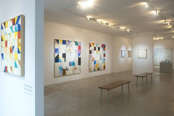 Power Boothe, with works by Elisa Lendvay, installation view