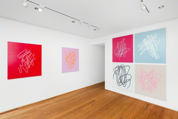 Joel Dickens - Like Noise From A Party You're Not Invited To, installation view
