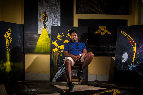 Alejandro Lescay, installation view