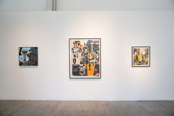 Blues Blues Slower Than My Heartbeat, installation view