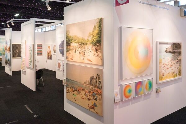 Lustre Contemporary at Affordable Art Fair Battersea Spring 2018, installation view