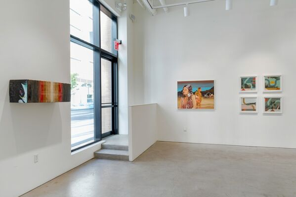 Land Escapes, installation view