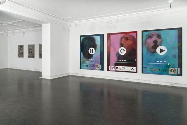 Dawit Abebe: Liminal in the age of mobile-ty, installation view