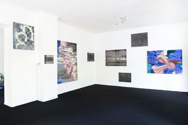 Mateusz Piestrak | Non-places | during Berlin Gallery Weekend, installation view