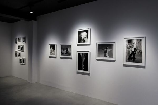 """CATHERINE BALET - """"LOOKING FOR THE MASTERS IN RICARDO'S GOLDEN SHOES"""", installation view"""