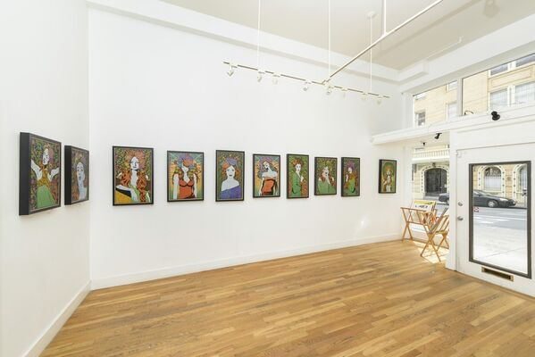 Chuck Sperry: Heaven of Many a Tangled Hue, installation view