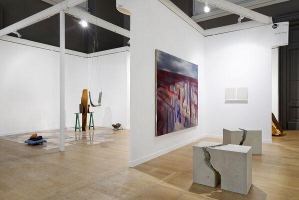 Galerie Jocelyn Wolff at FIAC 15, installation view