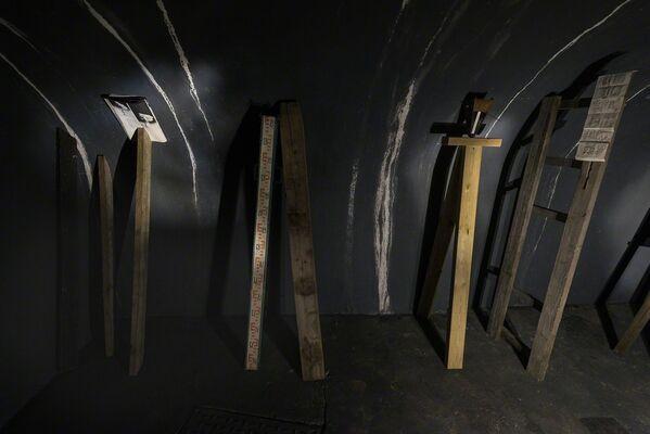 Gorse and Tropē, installation view