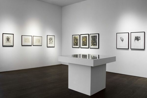 Peter Howson - A Survey of Prints, installation view