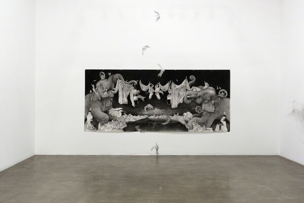 Adonna Khare's Between the Lines, installation view