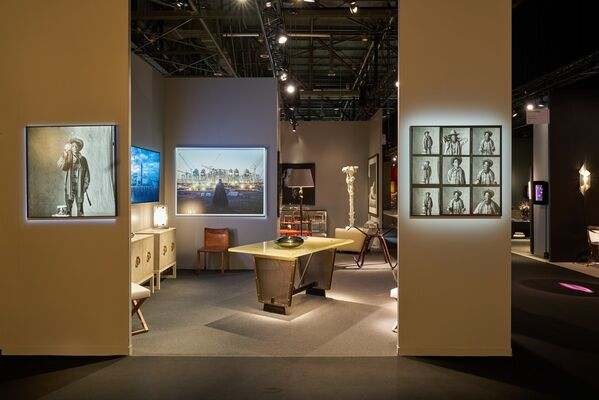 Galerie Patrick Gutknecht at PAD Genève 2019, installation view
