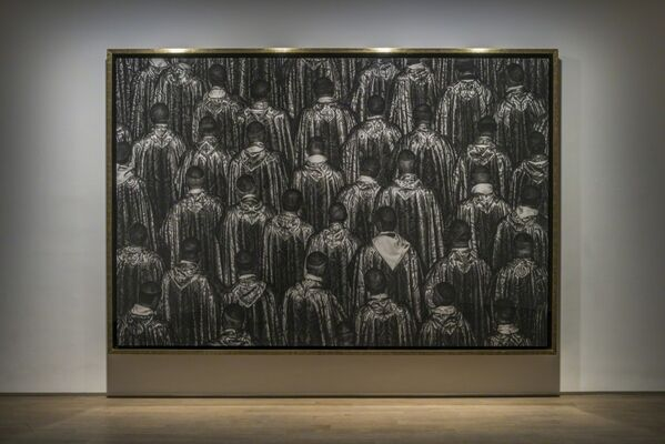 """Robert Longo: Luminous Discontent "", installation view"