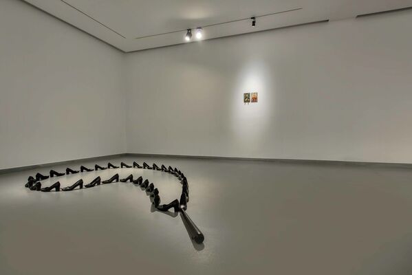 I Only Did What I Was Told To Do, installation view