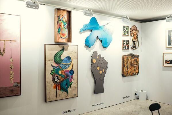 Casa Jacarepaguá at ArteBH Feira de Arte Moderna e Contemporânea 2018, installation view