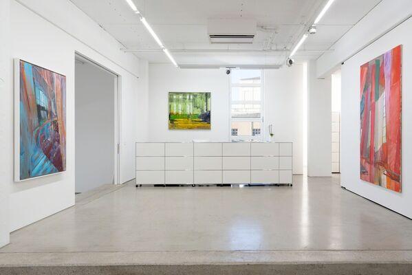 Jörg Ernert – LICHTPROBE, installation view