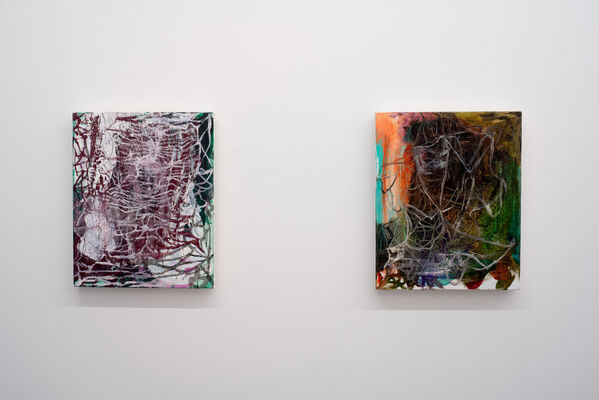 OLAV CHRISTOPHER JENSSEN/THE RUBICON PAINTINGS, installation view