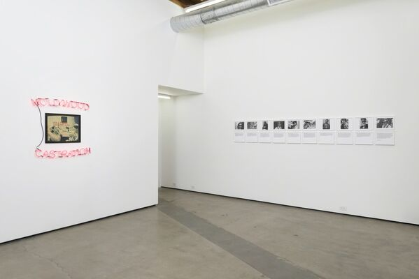 Photography and Language, installation view
