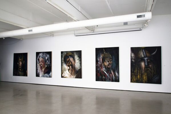 Michael LaBua, installation view