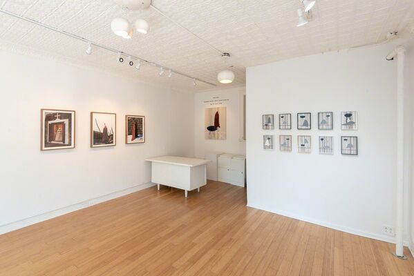 Peter Gynd | Blanketed: Textiles, Culture and the Landscape Recent Paintings and Photographs, installation view