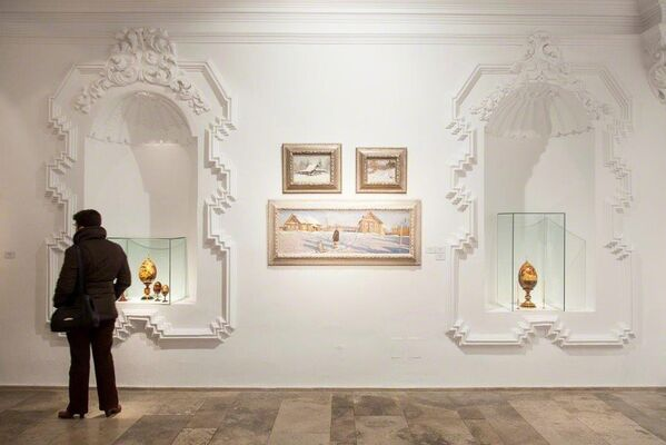 Life in the Twentieth Century Russian Painting, installation view
