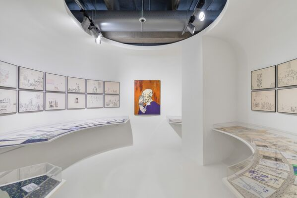 Pavel Pepperstein. The Human as a Frame for the Landscape, installation view