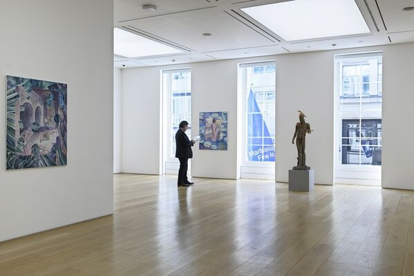 So I turned myself to face me: David Czupryn, Tony Matelli, Charlie Roberts, Jackie Saccoccio, installation view