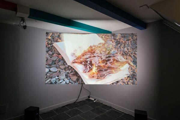 Blue Passage, installation view
