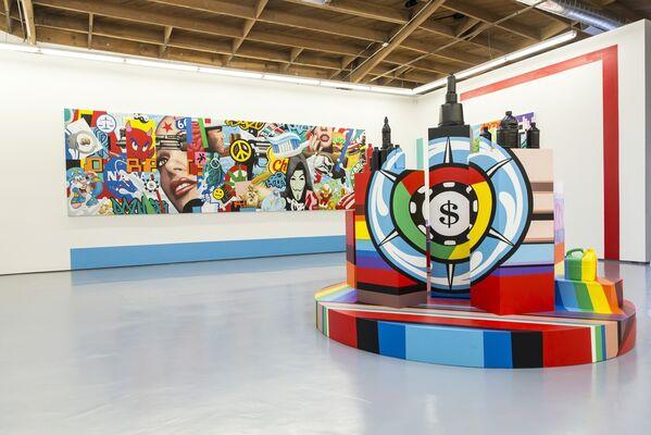 Speedy Graphito: Artificial Paradise, installation view