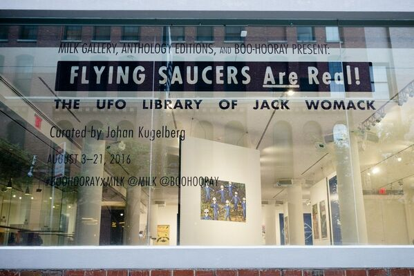 Flying Saucers Are Real!, installation view