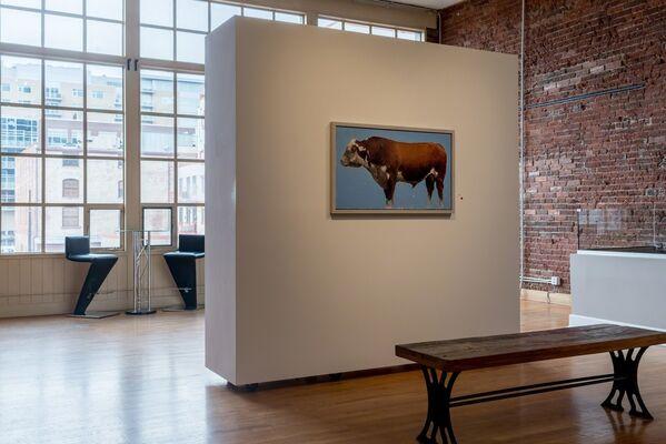 Michael Workman Solo Exhibition, installation view