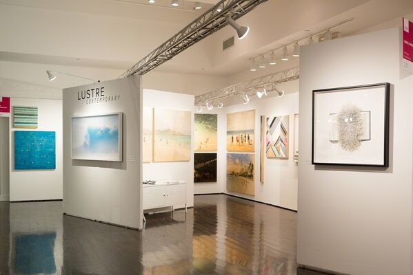 Lustre Contemporary at Affordable Art Fair New York Spring 2018, installation view