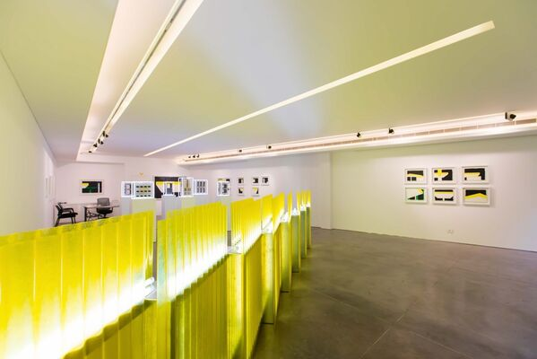 The Shape of A City, installation view