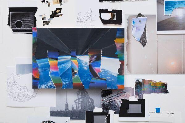 Sarah Sze | After image, installation view