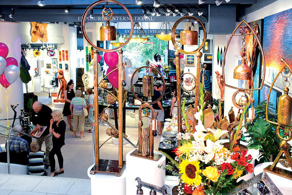 22nd Annual Fall Artist Show - First Weekend, installation view