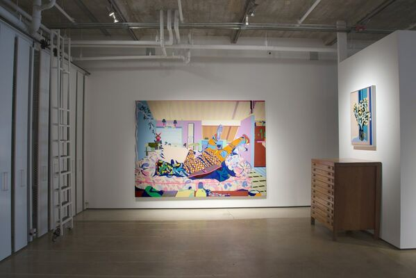Case Study Paintings (Southern California Modern), installation view
