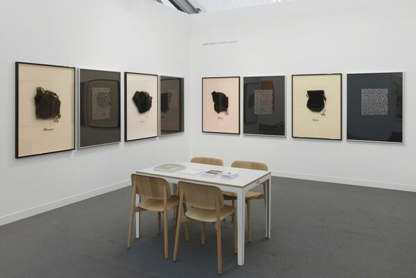 Pippy Houldsworth Gallery at Frieze London 2018, installation view