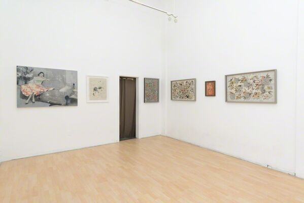 Lizzie Gill + Hope Kroll: Fragmented Memories, installation view