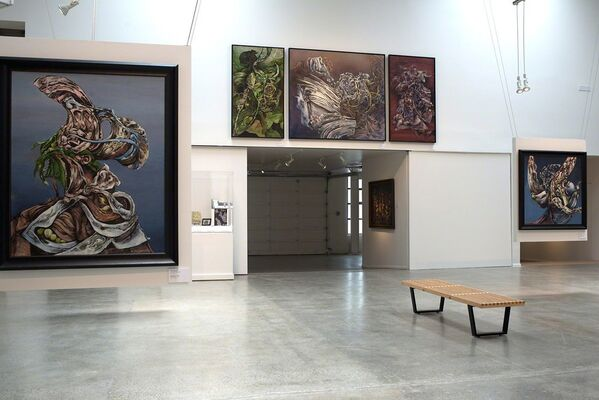 Kurt Seligmann - First Message from the Spirit World of the Object, installation view