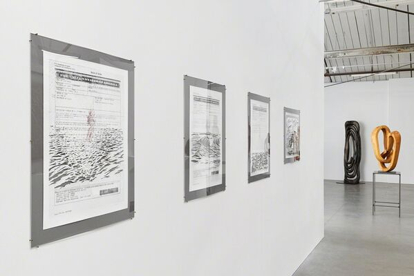 Bovey Lee: The Sea Will Come to Kiss Me, installation view