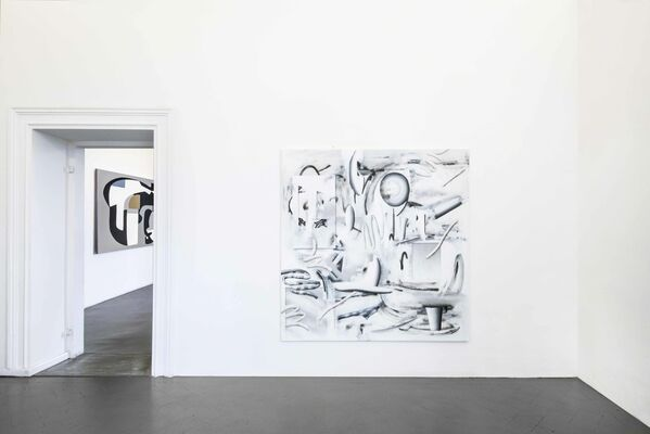 That Feeling curated by Domenico de Chirico, installation view