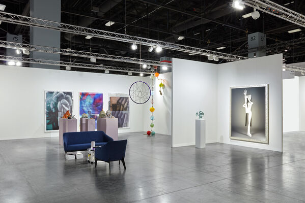 Société at Art Basel in Miami Beach 2019, installation view
