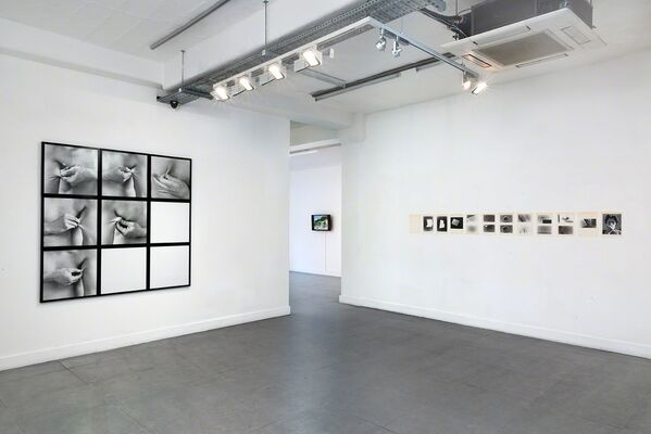 Some Dimensions of my Lunch: Conceptual Art in Britain. Part 3: Tony Morgan & John Blake, installation view