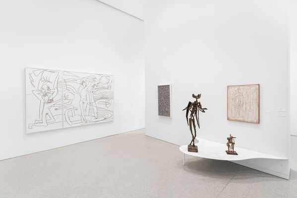 Globalism Pops BACK Into View: The Rise of Abstract Expressionism, installation view