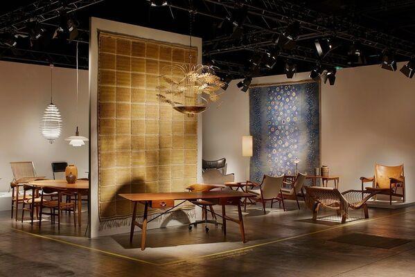 Dansk Møbelkunst Gallery at Design Miami/ Basel 2017, installation view